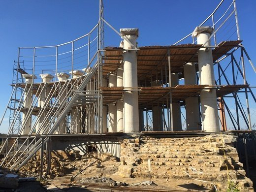Как будут ремонтировать Воронцовскую колоннаду в зимний период