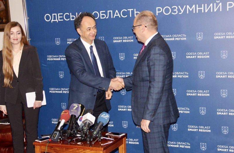 Одесская область и Евросоюз договорились сотрудничать в сфере реформирования