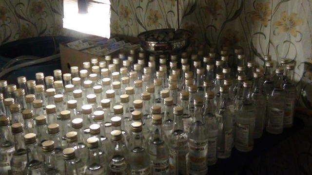 Одесситов спасли от контрафактной водки (ФОТО)