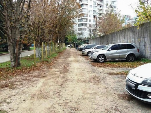 В Одессе наводят порядок на автостоянках города