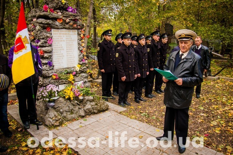 В Одессе почтили память погибших моряков (ФОТО)