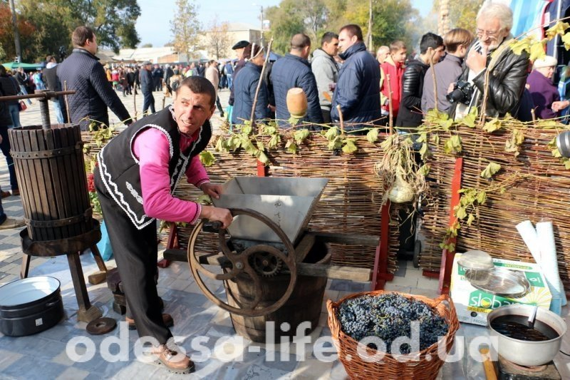 Фестиваль вина в Болграде стал самым масштабным в Украине