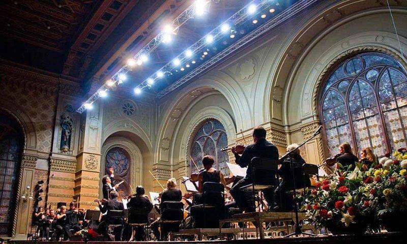 Одесский филармонический оркестр приглашает вместе отметить юбилей