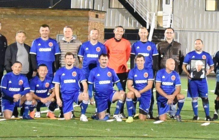 Сборная Одессы по футболу победила в Нью-Йорке