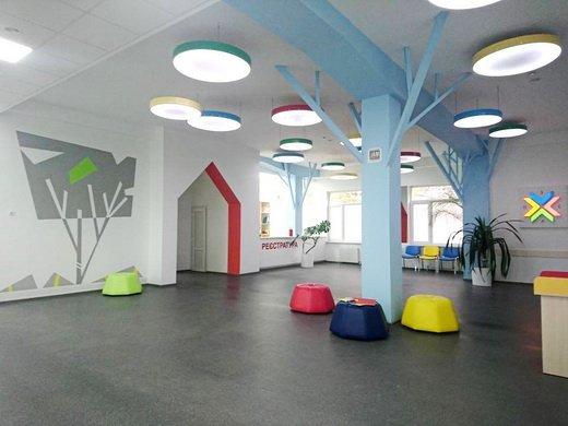 Как выглядит новая детская поликлиника в Одессе (ФОТО)