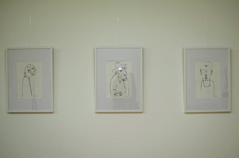 Выставка Михаила Ревы, посвященная памяти писателя Георгия Голубенко (ФОТО)