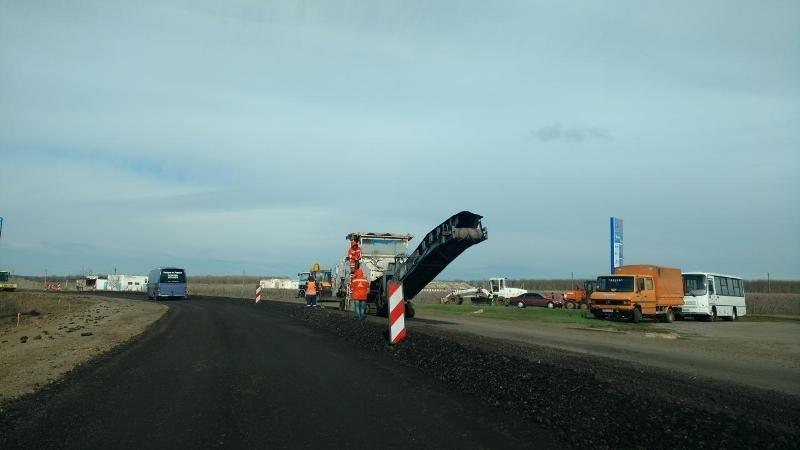 Ремонт трассы Одесса — Рени на финишной прямой