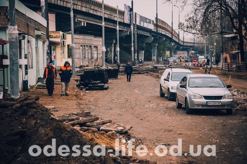 Когда закончатся пробки в районе Пересыпского моста? (ФОТО)