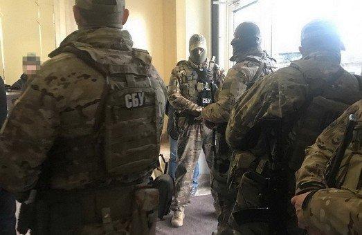 СБУ заблокировала офис «Кадорра» в центре Одессы