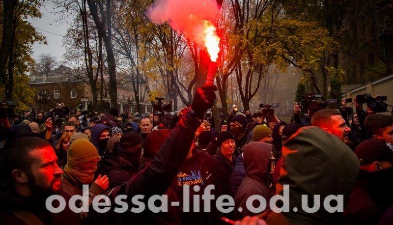 Беспорядки в одесском Горсаду: как это было (ФОТО, ВИДЕО)