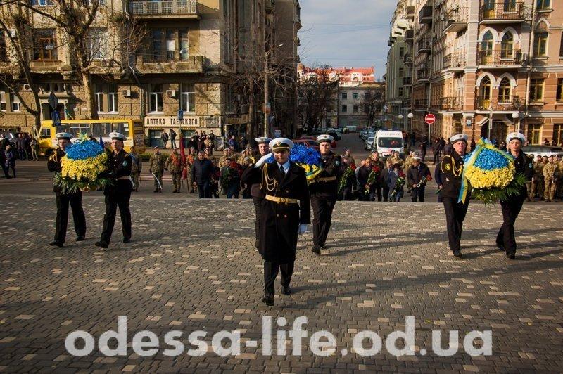 В Одессе отметили День Достоинства и Свободы (ФОТО)