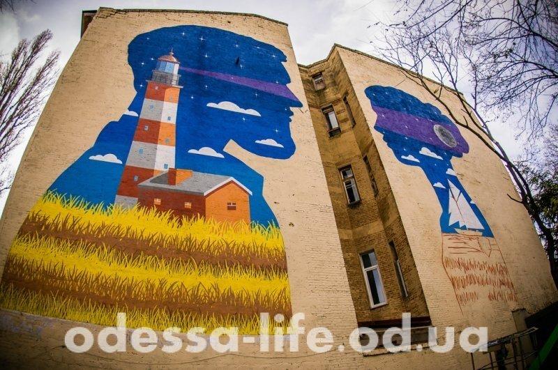 В Пироговском переулке «засветился» маяк (ФОТО)