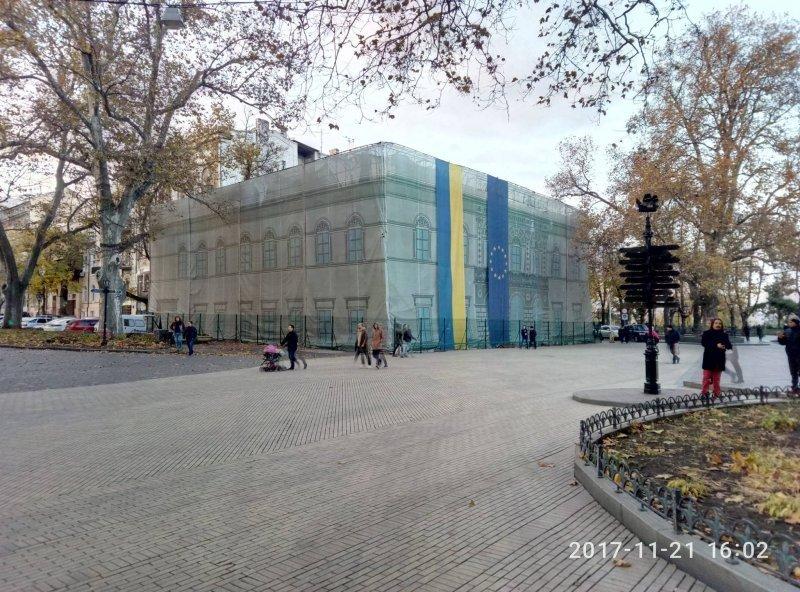Очередная скандальная надстройка в самом сердце Одессы (ФОТО)