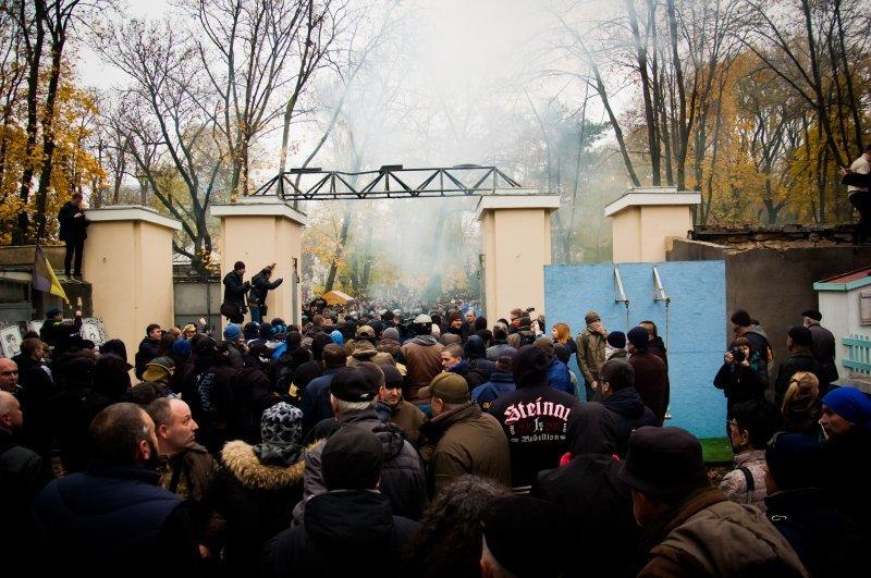 Одесская полиция знает, кто кинул камень в начальника ведомства (ВИДЕО)