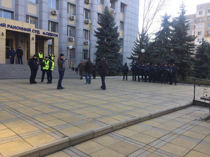 У Приморского суда в Одессе готовятся к провокациям (ФОТО)