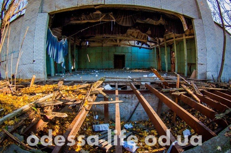 Как сейчас выглядит Летний театр в Горсаду? (ФОТО)