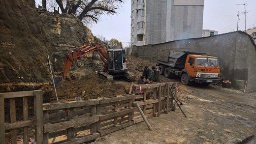 В Одессе спасают жителей Ломаного переулка (ФОТО)
