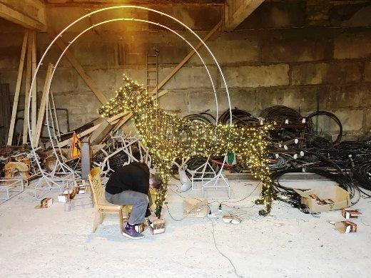 Одессу готовят к Новому году
