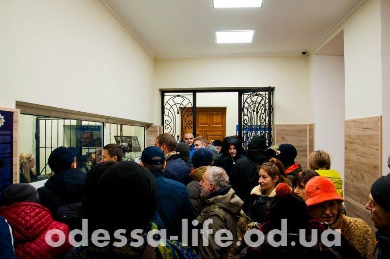 Одесские активисты требуют освобождения своих соратников (ФОТО)