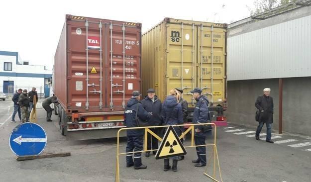 В Одессу ввезли радиоактивный металлолом