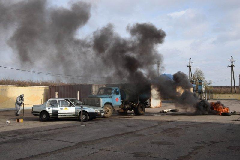На украино-молдавской границе предотвращали распространение радиации (ФОТО, ВИДЕО)