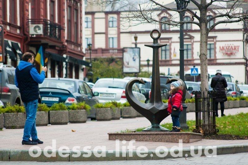 В Одессу пришла зима… (ФОТО)