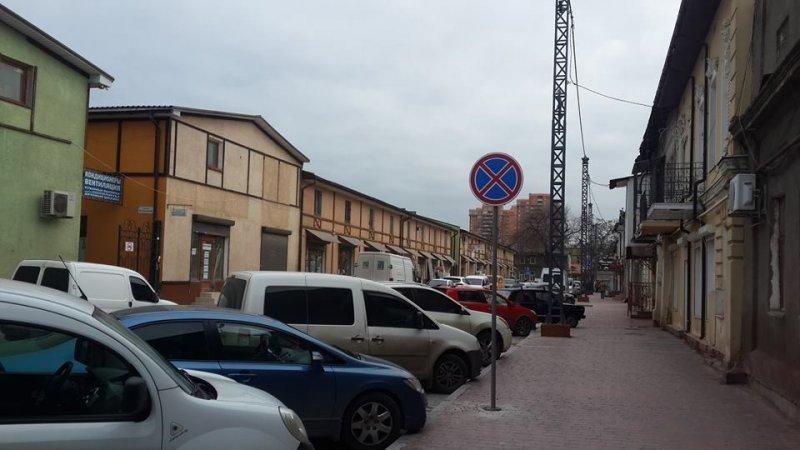 Косвенная улица теперь беспарковочная зона (ФОТО)