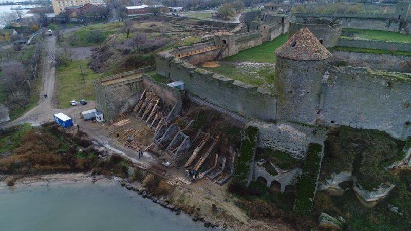 Аккерманская крепость уже никуда не ползет