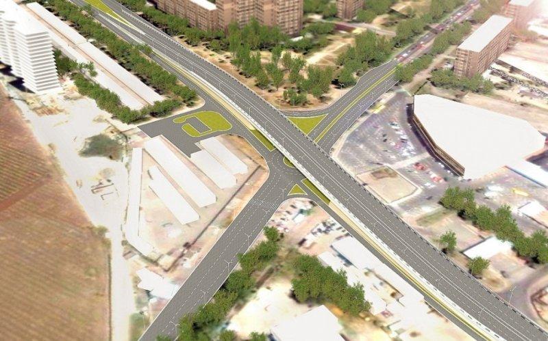 Проспекты Глушко и Небесной сотни снабдят новой транспортной развязкой