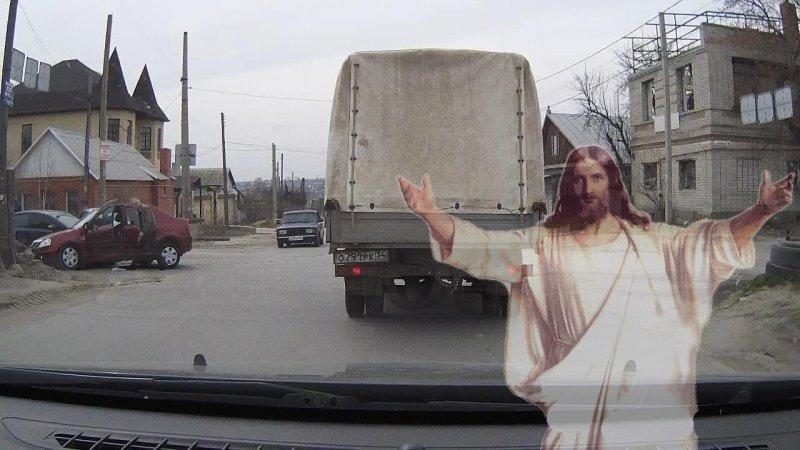 Есть ли Бог на оживленном перекрестке?