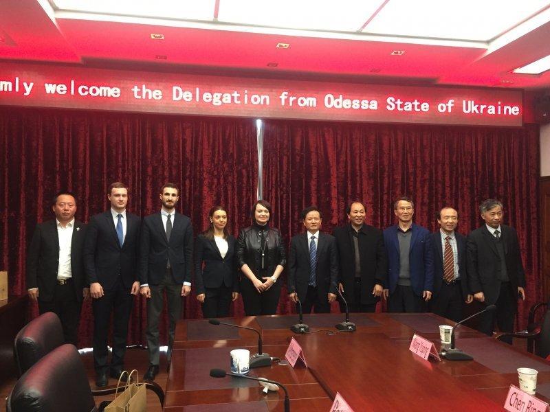 Одесская область будет сотрудничать с китайской провинцией
