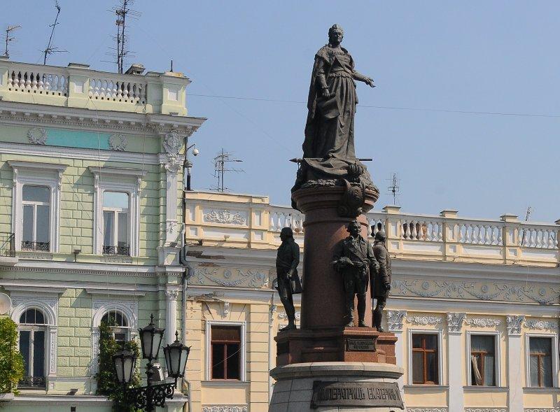 Останется ли в Одессе памятник Екатерине II?