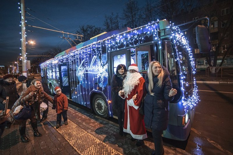 В Одессе пройдёт новогодний парад троллейбусов