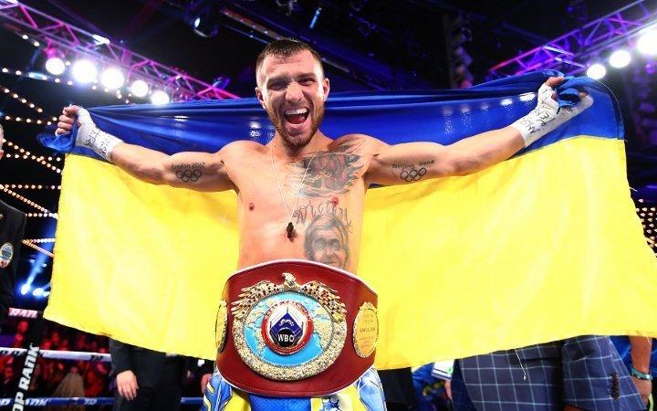 Василий Ломаченко возглавил рейтинг лучших боксёров мира
