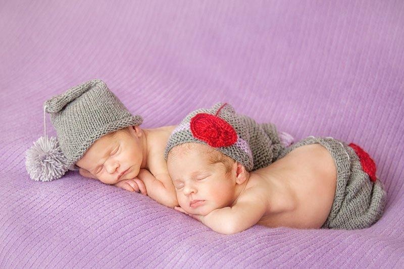 В Одессе за неделю родилось 5 пар двойняшек