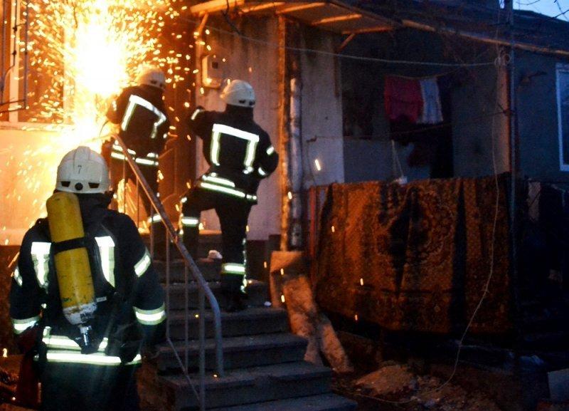 Новый год в Одесской области начинается с пожаров