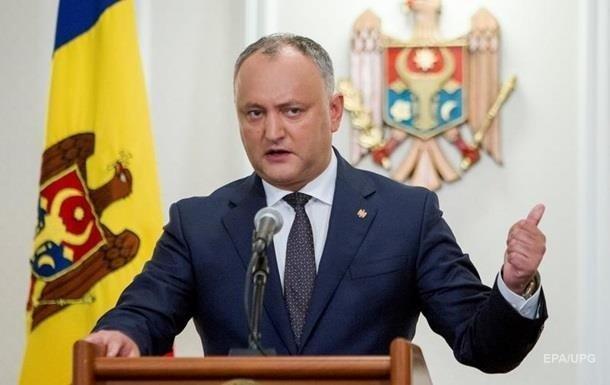 В Молдове уволили… Президента