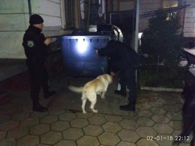 Новогодний квест для Одесской полиции (ФОТО)