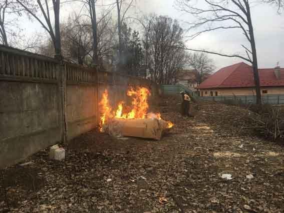 Пожар стоимостью несколько миллионов (ФОТО)