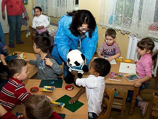 Китайские церемонии в одесском Доме ребенка (ФОТО)