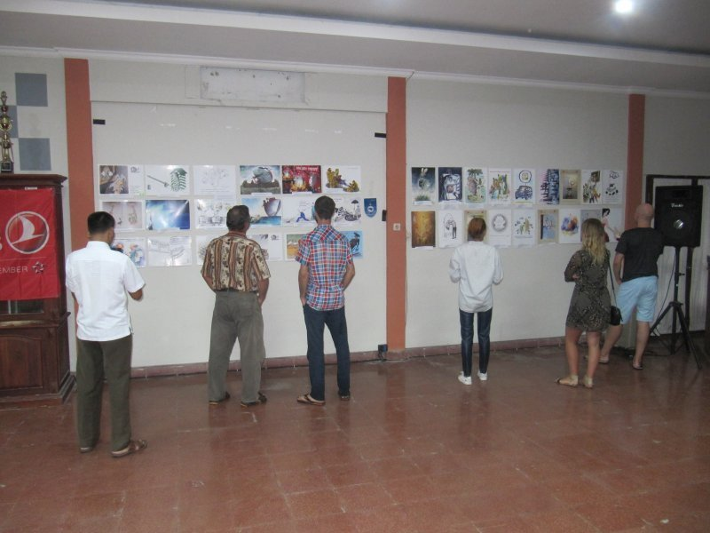 На Бали показывают иллюстрации произведений Жванецкого