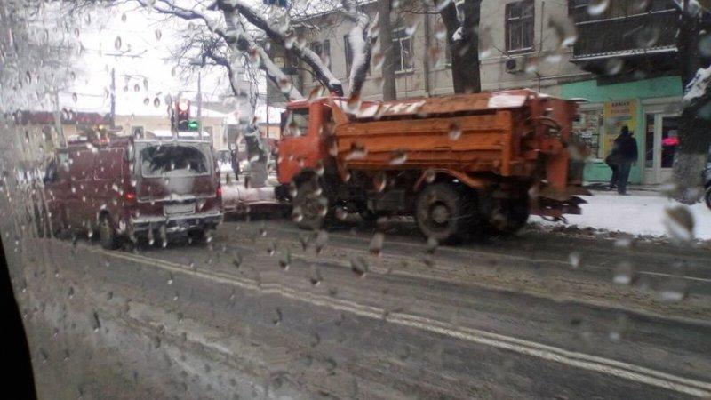 Балковскую и Степовую начали чистить