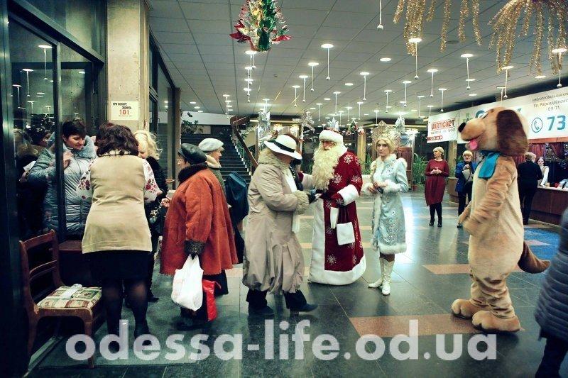 Старый Новый год в почтенно-новом одесском театре (ФОТО)