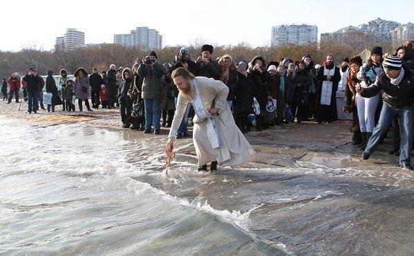 Опасности Крещенского купания. Мэрия предупреждает (ВИДЕО)
