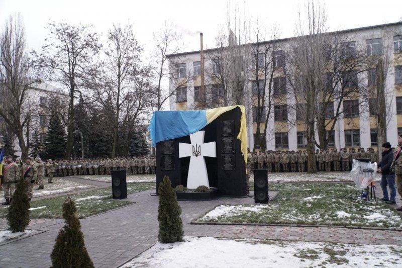 Новый памятник в память о погибших