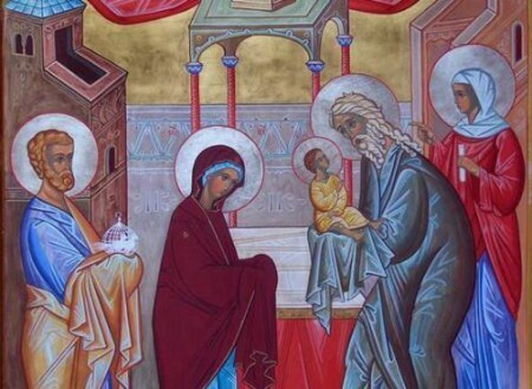 Что означает праздник Сретение Господне?