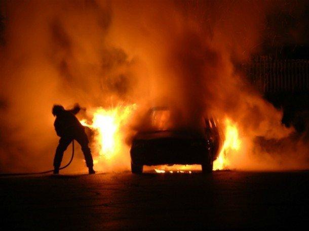 В Одесской области снова горели автомобили