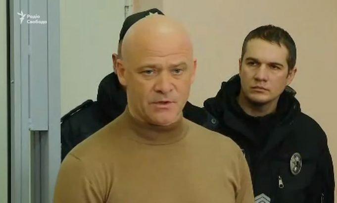 Задержанного Труханова отдали на поруки нардепу