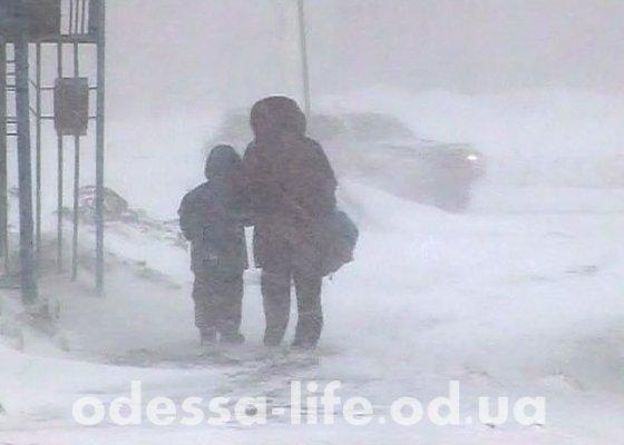Что происходит в Одессе во время непогоды ?