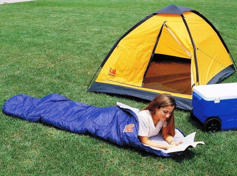Спальный мешок – туризм с комфортом